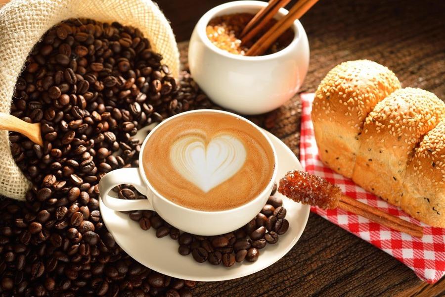 مقياس الحرارة للقهوة